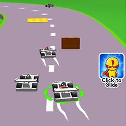 Image Gliding Car Race