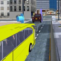 Image Driving Service Passenger Bus Transport