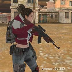 Image Commando Girl