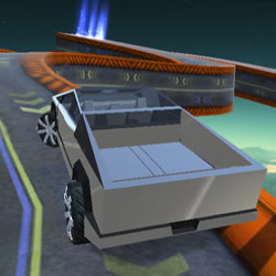 Image Cyber Truck Race Climb