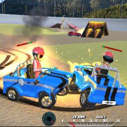 Image Demolition Cartoon Car Crash Derby