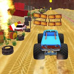 Image Monster Truck Stunt