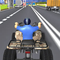 Image ATV Highway Traffic