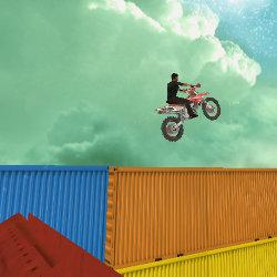 Image Sky Bike Stunt 3D