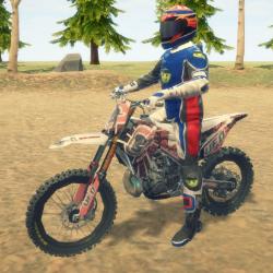 Image Dirt Bike Enduro Racing
