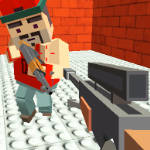 GunGame Shooting: Blocky Gangster