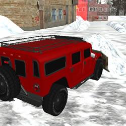 Image Snow Plow Jeep Simulator 3D